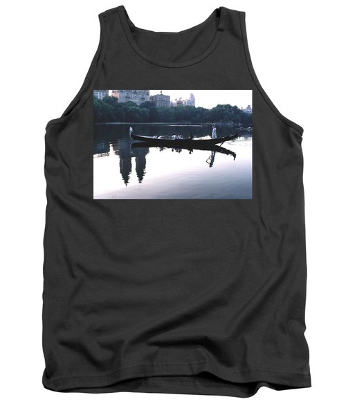 Gondola On The Central Park Lake Tank Top
