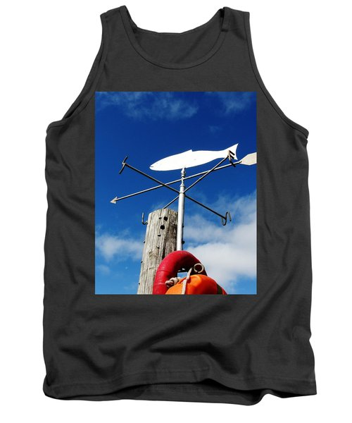 Tank Top featuring the photograph Gone Fishing by Charlie and Norma Brock