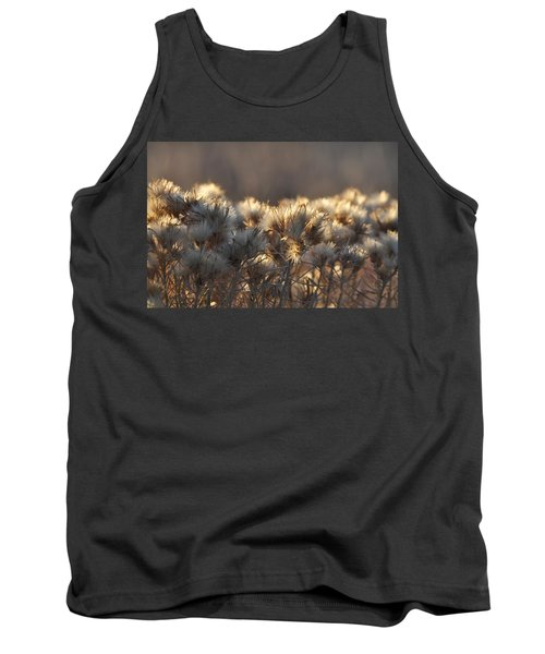 Tank Top featuring the photograph Gone To Seed by Fran Riley