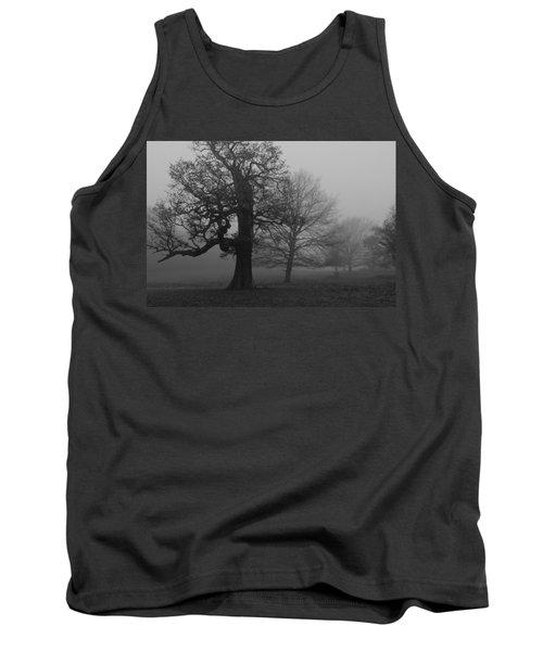 Tank Top featuring the photograph Gradual Trees by Maj Seda