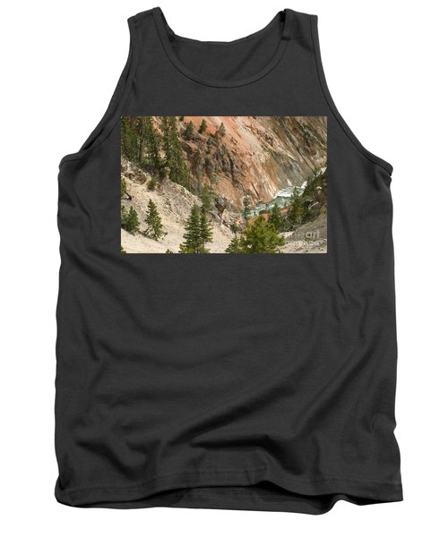Tank Top featuring the photograph Grand Canyon And Yellowstone River by Living Color Photography Lorraine Lynch
