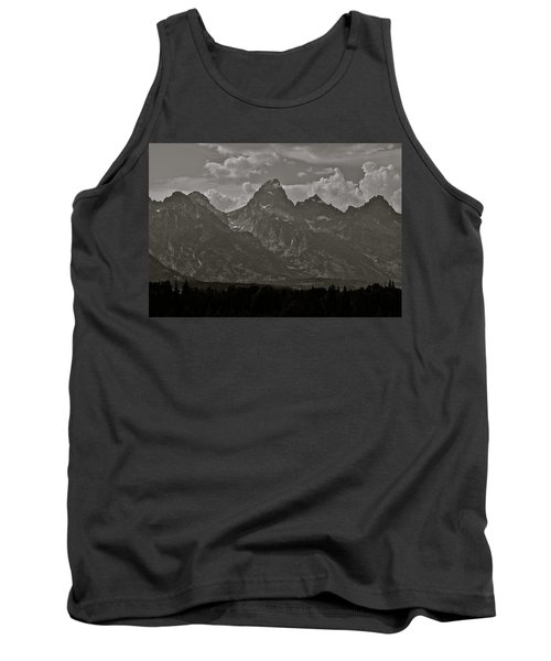 Tank Top featuring the photograph Grand Tetons by Eric Tressler