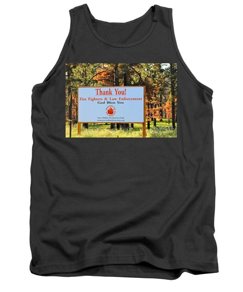 Gratitude Tank Top by Pamela Walrath