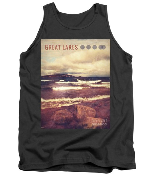 Tank Top featuring the photograph Great Lakes by Phil Perkins