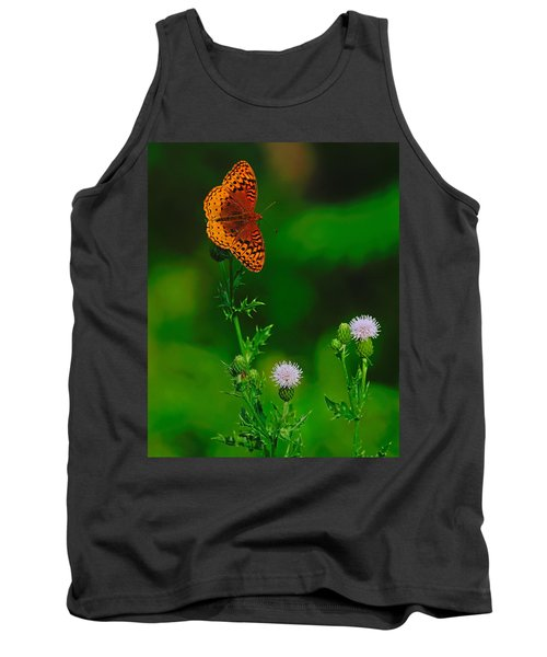 Great Spangled Fritillary Tank Top