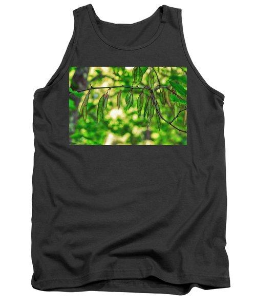 Green Redbud Seed Pods Tank Top
