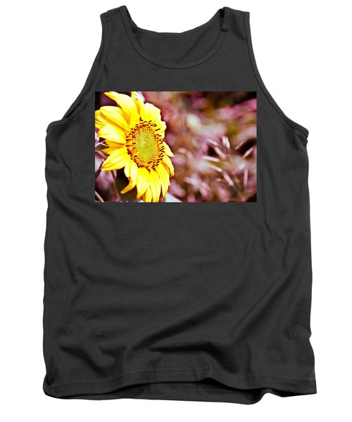 Tank Top featuring the photograph Greeting The Sun. by Cheryl Baxter