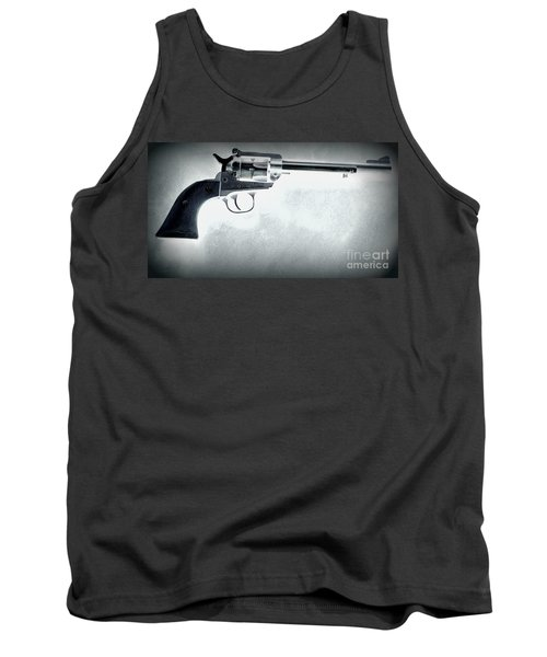 Tank Top featuring the photograph Guns And Leather 3 by Deniece Platt
