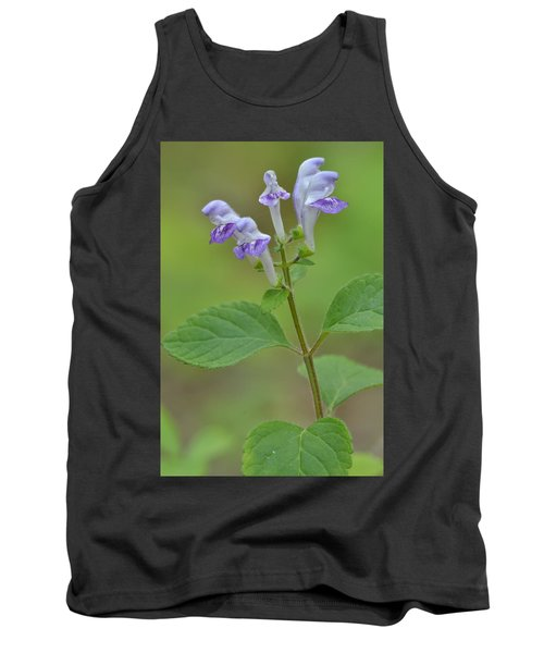 Tank Top featuring the photograph Hairy Skullcap by JD Grimes