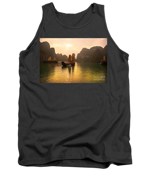 Tank Top featuring the photograph Halong Bay - Vietnam by Luciano Mortula