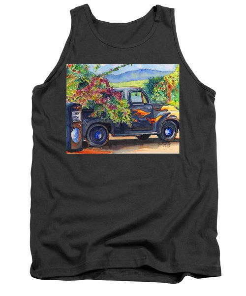 Hanapepe Truck Tank Top by Marionette Taboniar