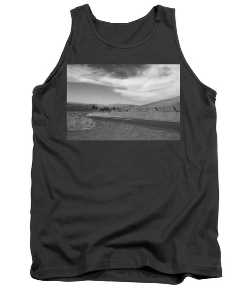 Tank Top featuring the photograph Heading Inland by Kathleen Grace