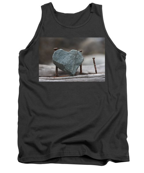 Heart Of Stone Tank Top by Cathie Douglas
