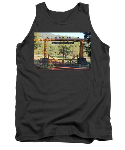 Hidden Meadow Ranch Tank Top by Pamela Walrath