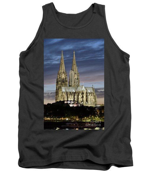 High Cathedral Of Sts. Peter And Mary In Cologne Tank Top