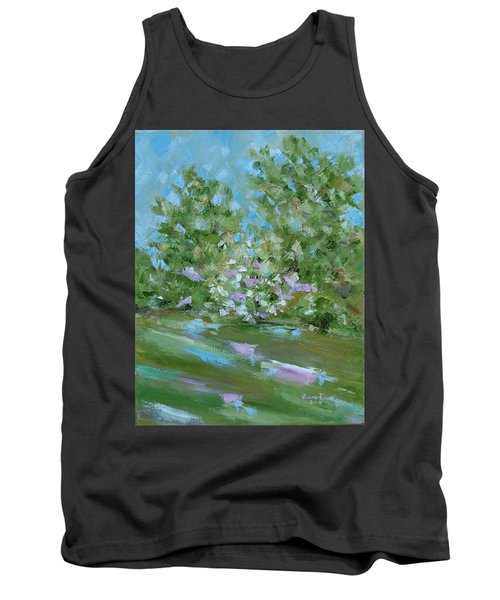 Tank Top featuring the painting Hilltop by Judith Rhue
