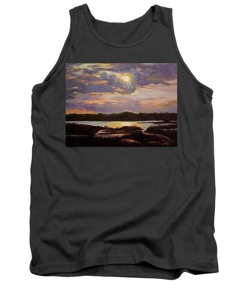 Hilton Head Sunset Tank Top