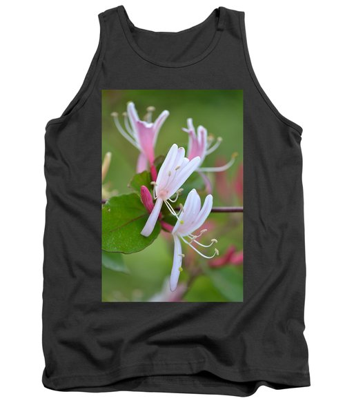 Tank Top featuring the photograph Honeysuckle by JD Grimes