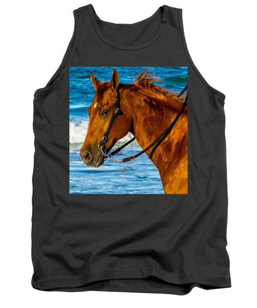 Horse Portrait  Tank Top