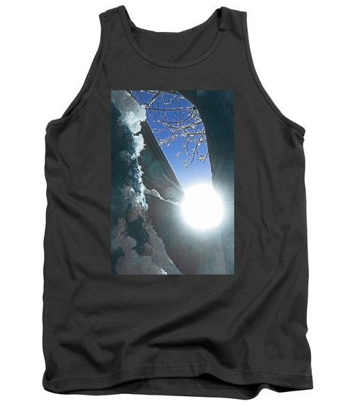 Tank Top featuring the photograph In The Cold Of The Sun by Steve Taylor