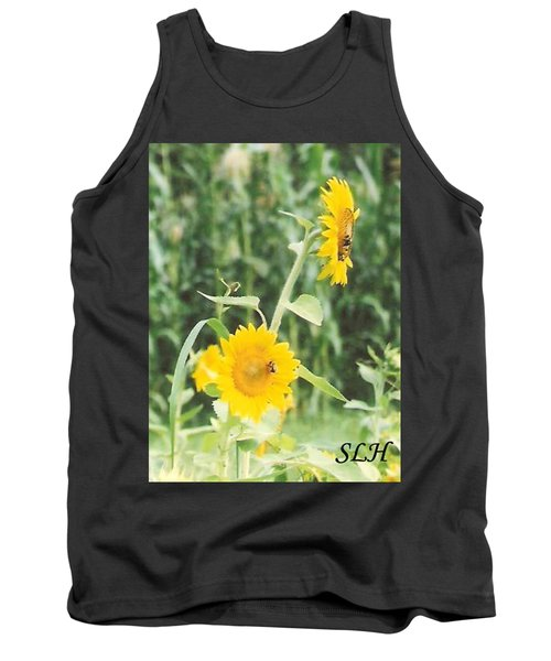 Insect On Sunflowers Tank Top