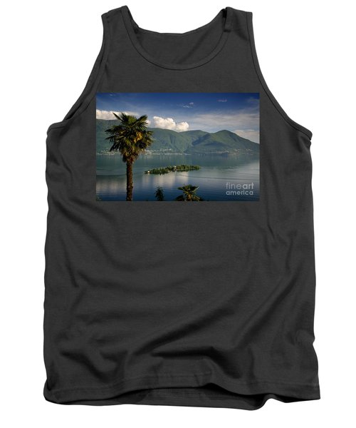 Islands On An Alpine Lake Tank Top