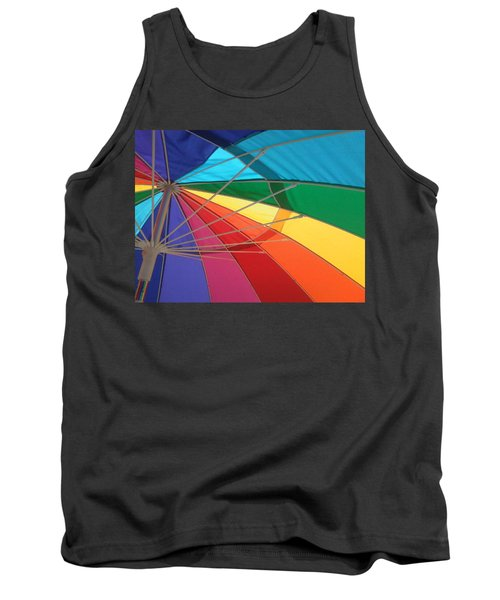 Tank Top featuring the photograph It's A Rainbow by David Pantuso
