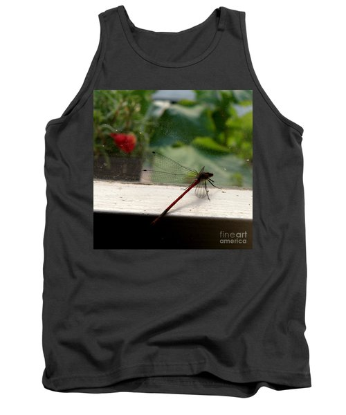 Tank Top featuring the photograph It's Always Greener by Lainie Wrightson