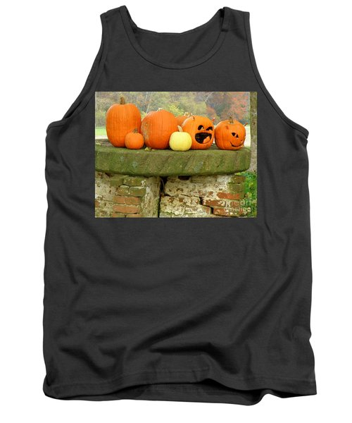 Tank Top featuring the photograph Jack-0-lanterns by Lainie Wrightson