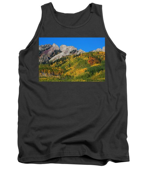Tank Top featuring the photograph Kebler Pass by Jim Garrison
