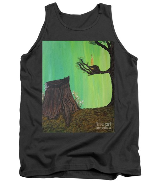 Light A Candle For Me Tank Top