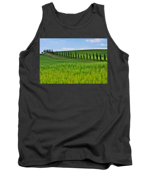 Lined Up Tank Top