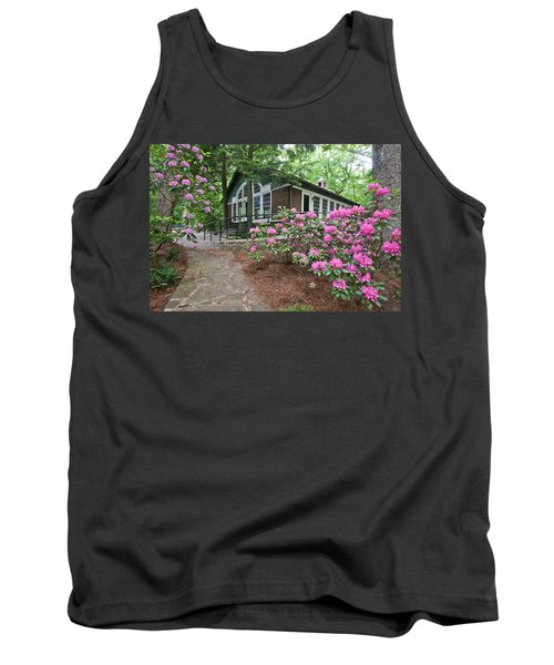 Little Brown Church In Spring Tank Top