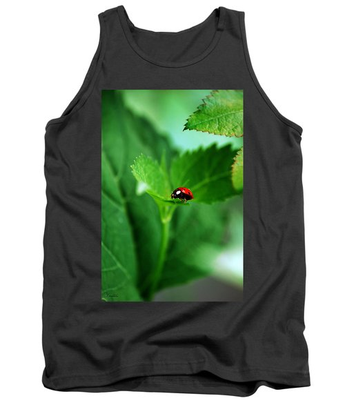 Little Red Lady Tank Top