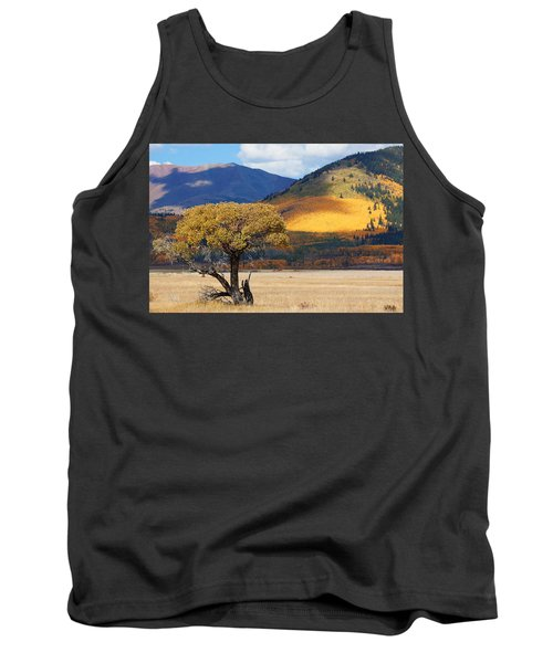 Tank Top featuring the photograph Lone Tree by Jim Garrison