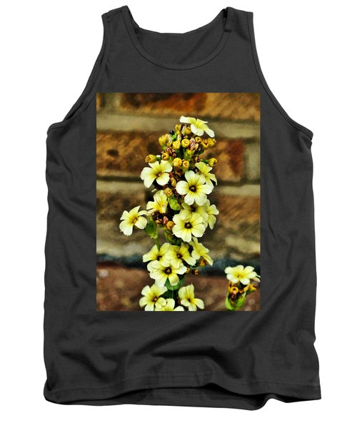 Tank Top featuring the digital art Looking Good by Steve Taylor