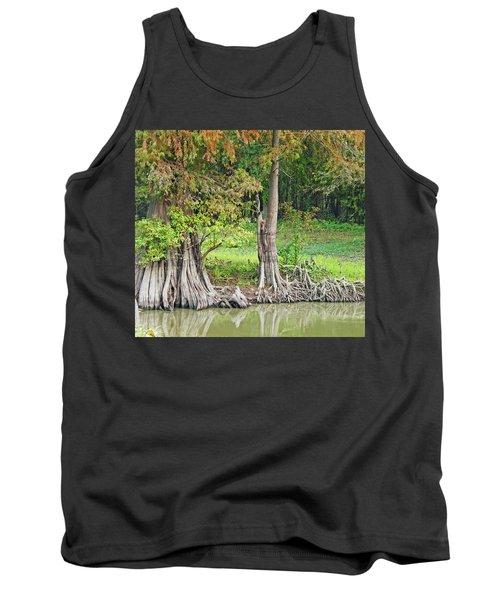 Tank Top featuring the photograph Louisiana Cypress by Lizi Beard-Ward