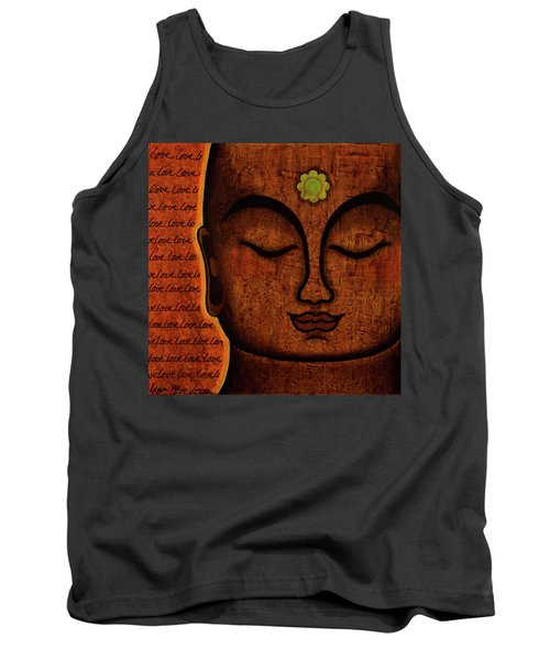 Tank Top featuring the painting Love by Gloria Rothrock