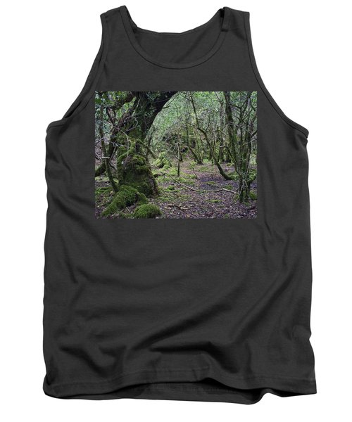 Tank Top featuring the photograph Magical Forest by Hugh Smith