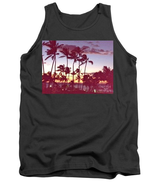 Tank Top featuring the photograph Mahalo For This Day by Beth Saffer
