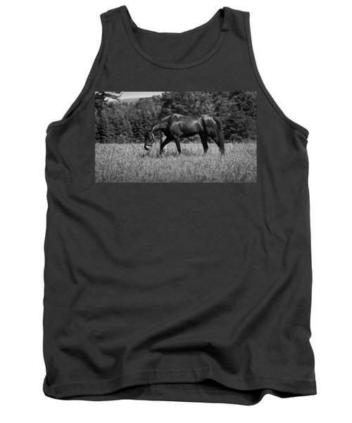 Tank Top featuring the photograph Mare In Field by Davandra Cribbie