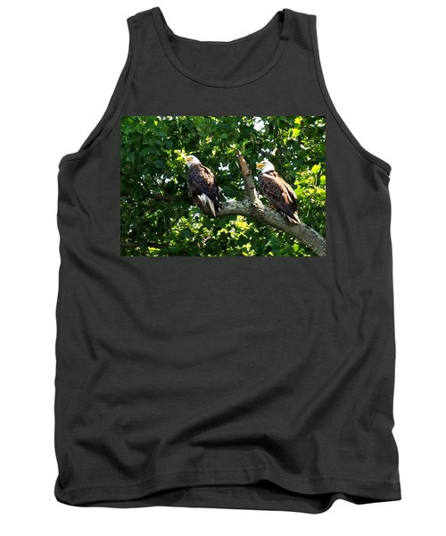 Tank Top featuring the photograph Mating Pair by Randall Branham