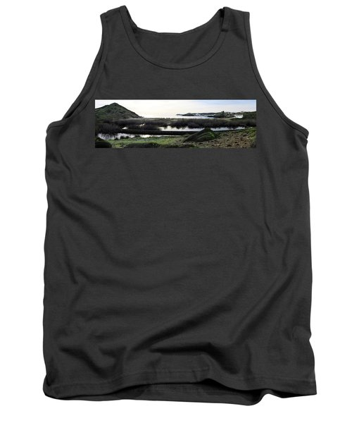 Tank Top featuring the photograph Mediterranean View by Pedro Cardona