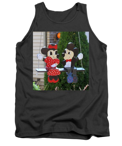 Mickey And Minnie Mouse Tank Top