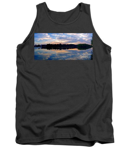 Mirror Mirror On The Water Tank Top by Sue Stefanowicz