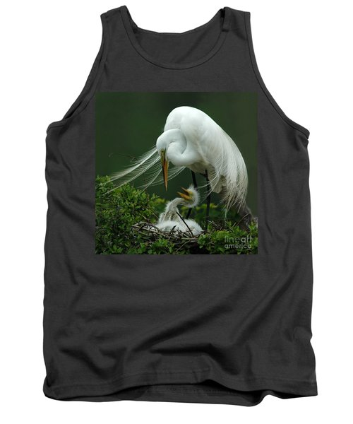 Mom And Me Tank Top by Vivian Christopher