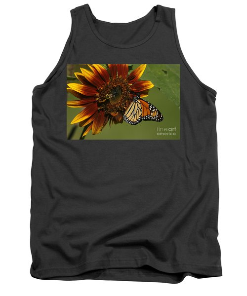 Monarch And The Bee Tank Top