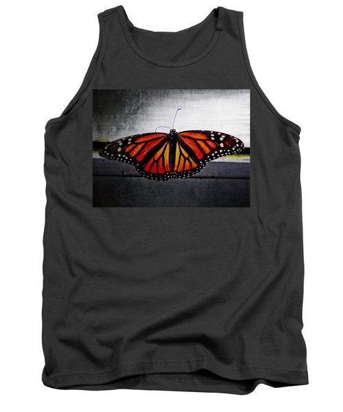 Tank Top featuring the photograph Monarch by Julia Wilcox