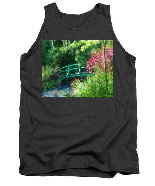 Monet's Garden Tank Top