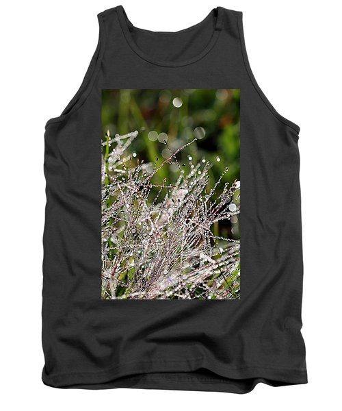Tank Top featuring the photograph Morning Dew by Lauren Radke